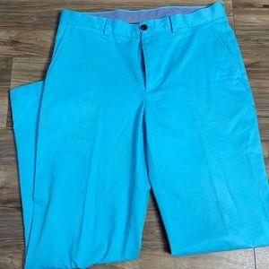 Brooks brothers Clarks aqua blue men's trousers